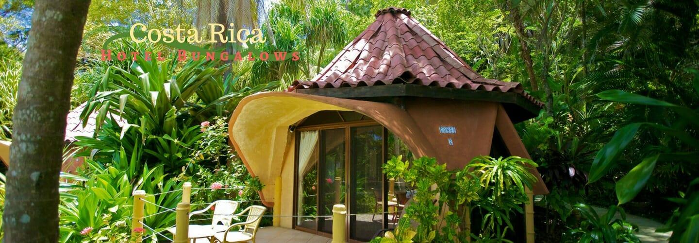 costa rica hotel beachfront bungalow at ylang ylang